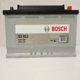BOSCH 590122072 s3013 612254 017 90Ah 720 CCA Car Battery