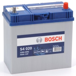 BOSCH 545155033 s4020 611893 156 45Ah 330 CCA Car Battery