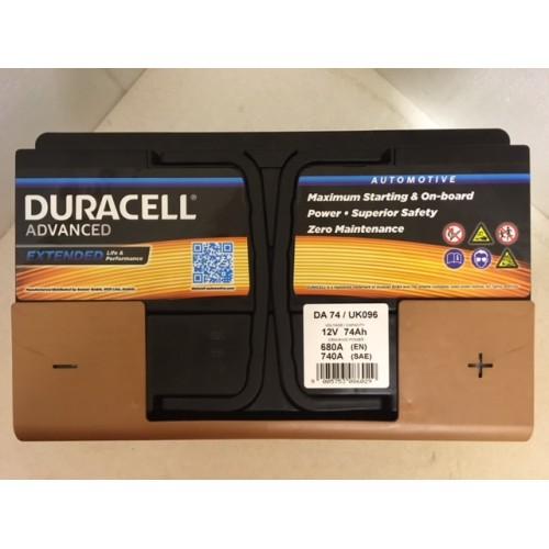Duracell Car Battery Review >> Duracell Da74 Advanced Car Battery 096