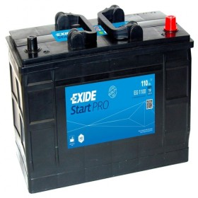 Exide EG1100 12v 110Ah 750CCA Commercial Battery (663) Exide Commercial
