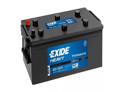 Exide EG1403 12v 140Ah 800CCA Commercial Battery (627) Exide Commercial