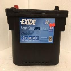 Exide EK508 Stop/Start AGM Car Battery