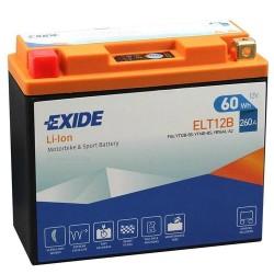 Exide ELT12B 12V 60Wh Lithium Motorcycle Battery