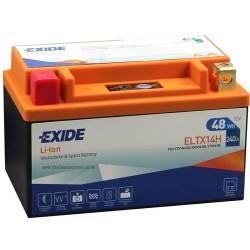 Exide ELTX14H 12V 48Wh Lithium Motorcycle Battery