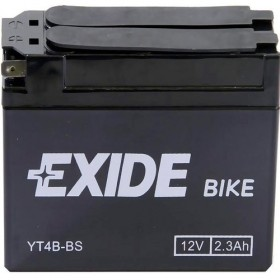 Exide ET4B-BS 12v 2.3Ah AGM Motorcycle Battery Exide Motorcycle