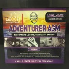 Leoch LAGM-110LL 12v 100Ah AGM Leisure Battery (lagm110ll)