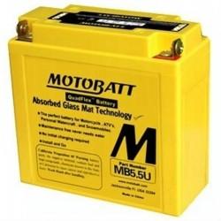 Motobatt MB5.5U 12V 7Ah Motorcycle Battery