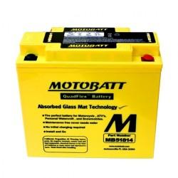 Motobatt MB51814 12V 22Ah Motorcycle Battery
