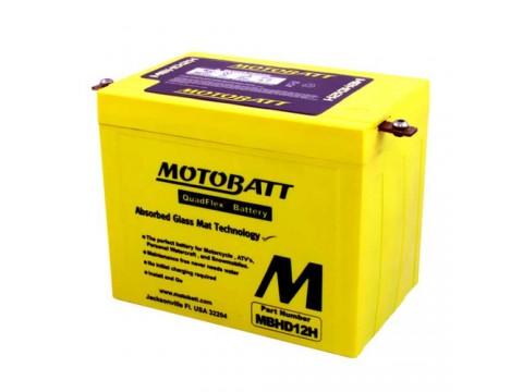 Motobatt MBHD12H 12V 33Ah Motorcycle Battery