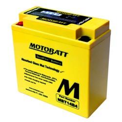 Motobatt MBT14B4  12V 13Ah Motorcycle Battery