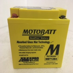 Motobatt MBTX12U 12V 14Ah Motorcycle Battery