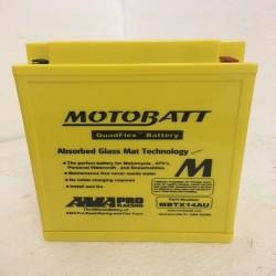 Motobatt MBTX14AU 12V 16Ah Motorcycle Battery