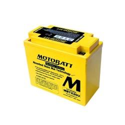 Motobatt MBTX20U 12V 21Ah Motorcycle Battery