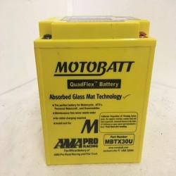 Motobatt MBTX30U 12V 32Ah Motorcycle Battery