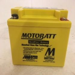 Motobatt MBTX4U 12V 4Ah Motorcycle Battery