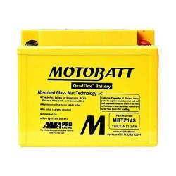 Motobatt MBTZ14S 12V 11Ah Motorcycle Battery