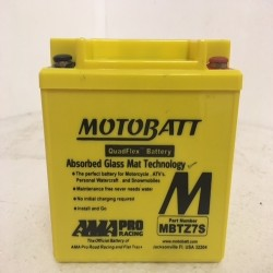 Motobatt MBTZ7S 12V 6Ah Motorcycle Battery