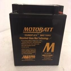 Motobatt MBYZ16HD 12v 16ah Motorcycle Battery