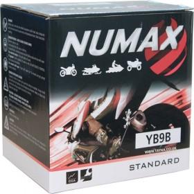 Numax YB9-B 12v 9Ah Motorcycle Battery Numax Motorcycle