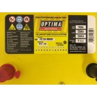 Optima Yellow Top YTS 4.2 (8012-254) (BCI D34) (YTS4.2 AGM) Optima Agricultural