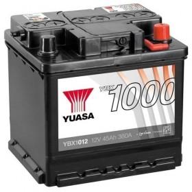 YUASA YBX1012 45Ah 380 CCA Car Battery