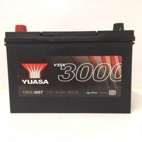 YUASA YBX3057 45Ah 400 CCA Car Battery
