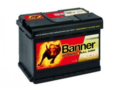 banner 027 12v 60ah 640cca stop start agm car battery. Black Bedroom Furniture Sets. Home Design Ideas