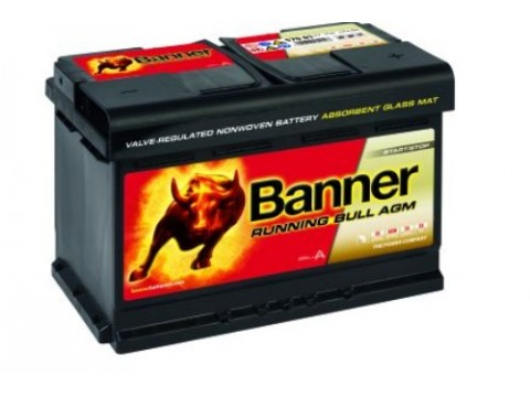 Banner 096 12v 70Ah 720CCA AGM Stop/Start Car battery (570 01) (096AGM) Banner Stop/Start