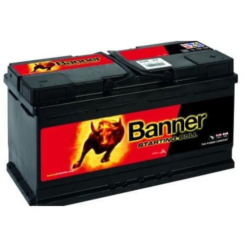 banner 019 12v 95ah 720cca car battery 595 33 019. Black Bedroom Furniture Sets. Home Design Ideas
