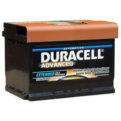 Duracell DA62 Advanced Car Battery (075)