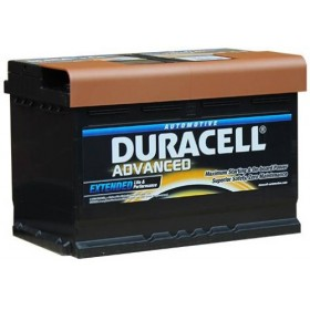 Duracell DA74 Advanced Car Battery (096) Duracell Taxi