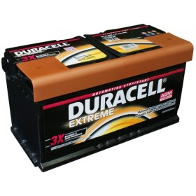 Duracell DE92 AGM Extreme Start - Stop Car Battery (017/019/G14)
