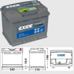 Exide EA640 Premium (027)
