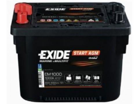 Exide EM900 Start Orbital AGM (005R) Exide Agricultural
