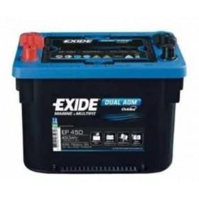 Exide EP450 Dual AGM (MAXXIMA) Exide Leisure