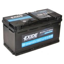 Exide EK950 Stop/Start (019 AGM) Exide Stop/Start
