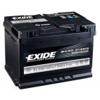 Exide EL600 Stop/Start Battery (027 EFB) Exide Stop/Start
