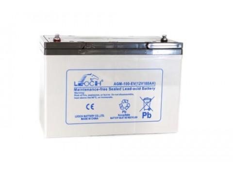 Leoch LPC12-100 (12V 100AH) (LPC100-12) (AGM110EV)(AGM100EV) Leoch Industrial