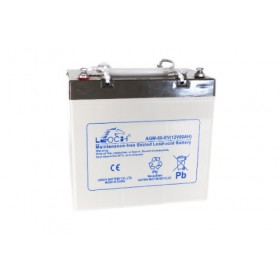 Leoch LPC12-50 Mobility Battery (12V 50AH) (50-12)(AGM60EV) Leoch Golf Buggy