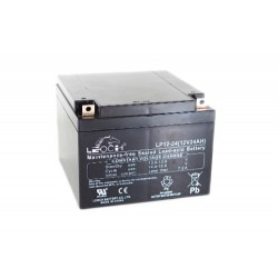 Leoch Lithium 12v 22AH Golf Trolley Battery (Mc2-22) (24-12) (26-12) Leoch Lithium