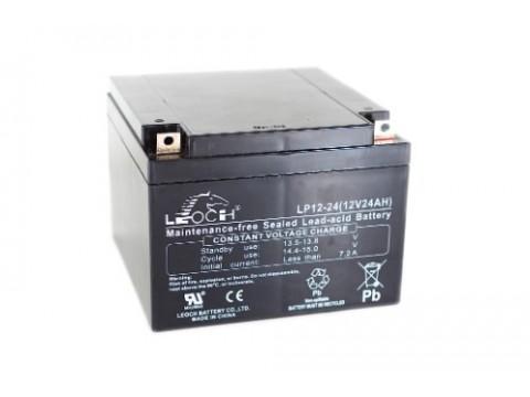 Leoch LPC12-24 Golf Trolley Battery (12V 24AH) (24-12) Leoch AGM & GEL