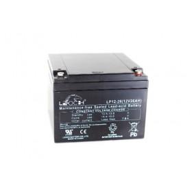 Leoch LPC12-26 Mobility Battery (12V 26AH) (26-12)(AGM28EV) Leoch Industrial