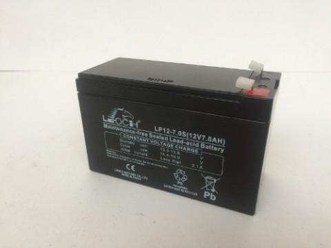 LEOCH LP12-7.0S 12V 7.0Ah AGM Battery Leoch Alarm