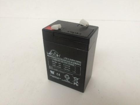 Leoch LP4-6 6v 4.0Ah AGM Battery Leoch Alarm