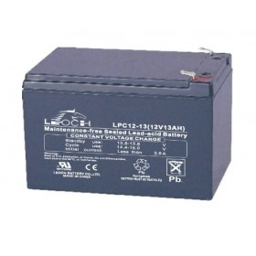 Leoch LPC12-13 Mobility Battery (12V 13AH) (LPC13-12) (12-12) (AGM15EV)  Leoch Alarm
