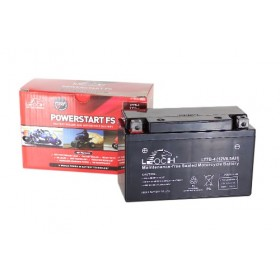 Leoch YT7B-BS 12v 6.5Ah Motorcycle Battery Leoch Mototcycle