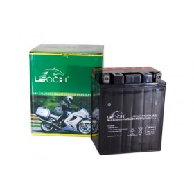 Leoch YTX14AH-BS 12v 12Ah Motorcycle Battery Leoch Mototcycle