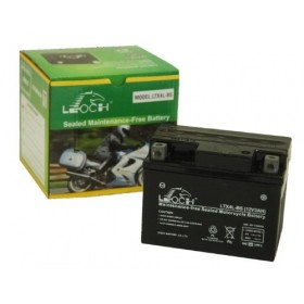 Leoch YTX4L-BS 12v 3Ah Motorcycle Battery Leoch Mototcycle