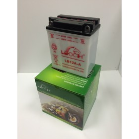 Leoch LYB12A-A 12v 12Ah Motorcycle Battery (YB12AA)