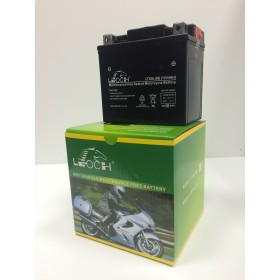 Leoch YTX5L-BS 12v 4Ah Motorcycle Battery  Leoch Mototcycle